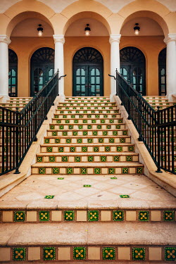 Evelina Kremsdorf GRAND BUILDING WITH TILED STEPS