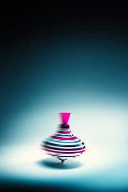 Magdalena Russocka close up of spinning top toy