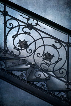 Jaroslaw Blaminsky ORNATE WROUGHT IRON STAIRCASE