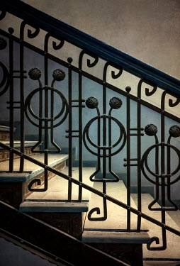 Jaroslaw Blaminsky DECORATIVE WROUGHT IRON STAIRCASE