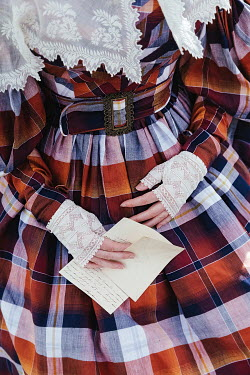 Matilda Delves HISTORICAL WOMAN HOLDING LETTER