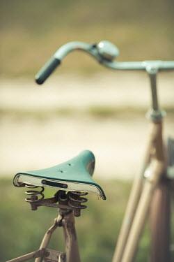 Ildiko Neer Close up of vintage bicycle