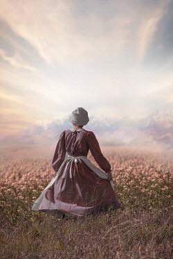 Ildiko Neer Historical woman in meadow