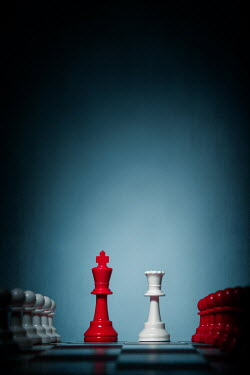 Magdalena Russocka chess pieces on board