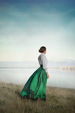 Ildiko Neer Historical woman by lake