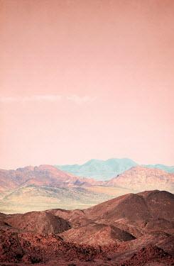 Miguel Sobreira BARREN LANDSCAPE WITH PINK SKY