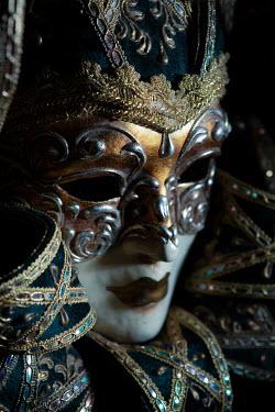 Magdalena Russocka close up of venetian mask in shadow