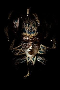 Magdalena Russocka venetian mask in shadow