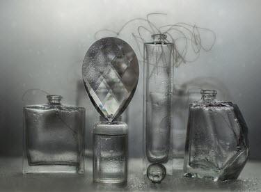 Andreeva Svoboda WET GLASS BOTTLES WITH DELICATE STEMS