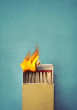 Lyn Randle BOX OF BURNING MATCHES