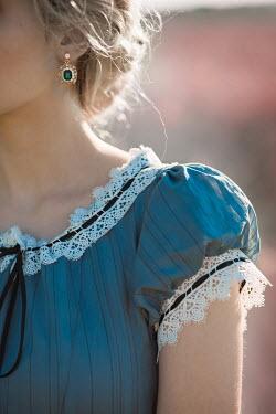 Ildiko Neer Close up of historical woman