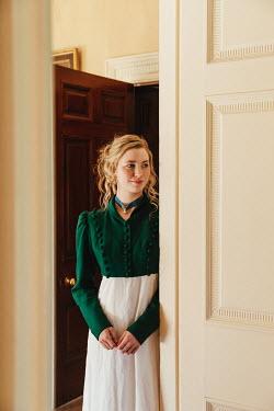 Matilda Delves BLONDE REGENCY WOMAN BY OPEN DOOR
