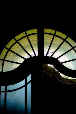 Joanna Jankowska HISTORICAL GLASS DOOR IN SHADOW