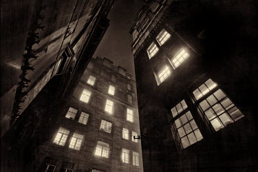 Laurence Winram APARTMENTS AT NIGHT