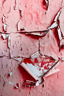 Magdalena Wasiczek WALL WITH PEELING RED PAINT
