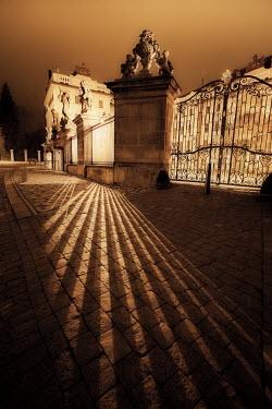 Laurence Winram GRAND GATES AT NIGHT
