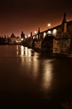 Laurence Winram OLD STONE BRIDGE AT NIGHT