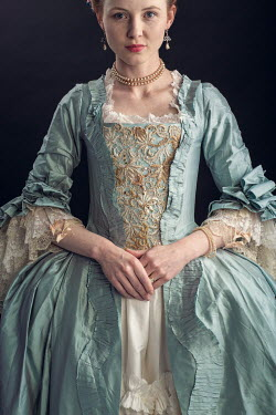 Laurence Winram Young woman in Victorian gown