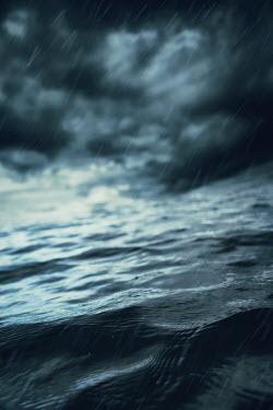 Magdalena Russocka stormy sea and rain