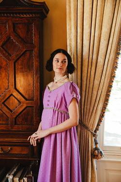 Matilda Delves REGENCY WOMAN STANDING BY WINDOW