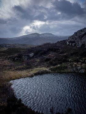 David Baker MOORLAND HILLS AND RIPPLED WATER