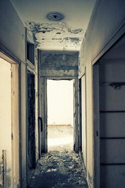 Mohamad Itani HALLWAY OF DERELICT BUILDING