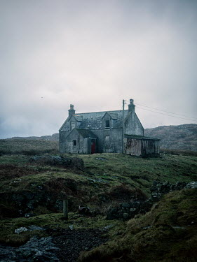 David Baker ABANDONED OLD STONE HOUSE IN COUNTRYSIDE