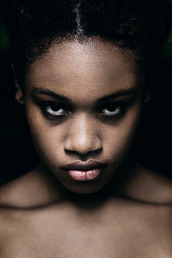 Magdalena Russocka close up of beautiful african woman staring