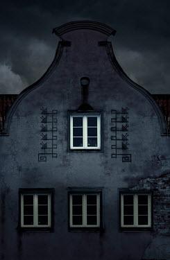 Jaroslaw Blaminsky EXTERIOR OF HISTORICAL BUILDING WITH STORMY SKY