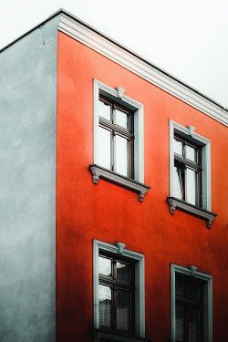 Joanna Jankowska EXTERIOR OF ORANGE AND WHITE BUILDING