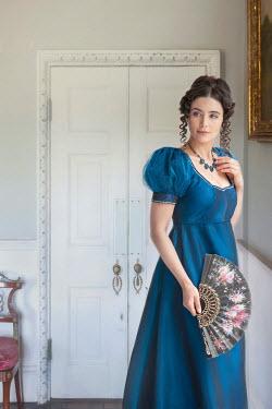 Lee Avison beautiful regency woman indoors