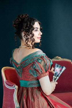 Lee Avison regency woman waist up seated