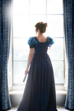 Lee Avison regency woman at the window