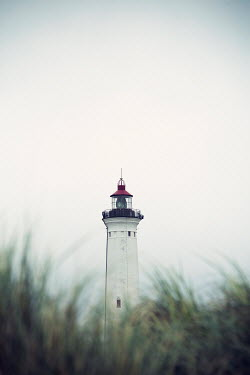 Carmen Spitznagel WHITE AND RED LIGHTHOUSE