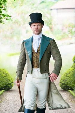 Lee Avison regency man striding towards camera