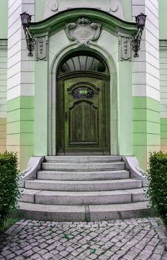 Jaroslaw Blaminsky HISTORICAL BUILDING WITH ORNATE DOORWAY