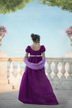 Ildiko Neer Regency woman walking on terrace