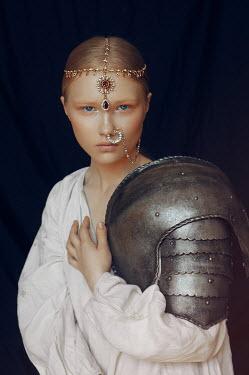 Natasha Yankelevich WOMAN WITH JEWELLERY AND ARMOUR