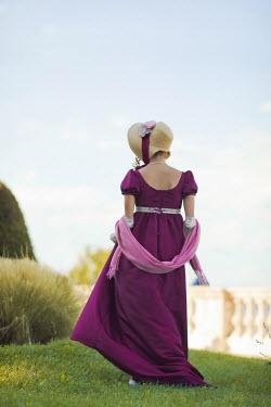 Ildiko Neer Regency woman walking in garden