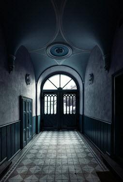 Jaroslaw Blaminsky DOORWAY AND HALL IN HISTORICAL BUILDING