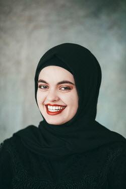 Jovana Rikalo HAPPY SMILING WOMAN IN HIJAB