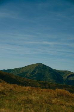 Svitozar Bilorusov GREEN MOUNTAIN WITH BLUE SKY
