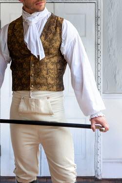 Lee Avison regency man mid section indoors