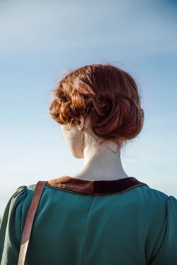 Natasza Fiedotjew vintage woman from behind