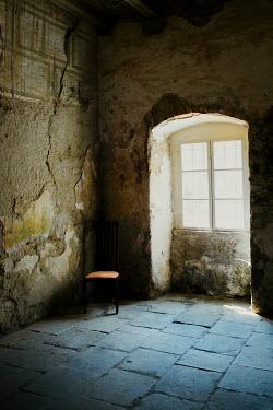 Joanna Jankowska Window and chair in shadow