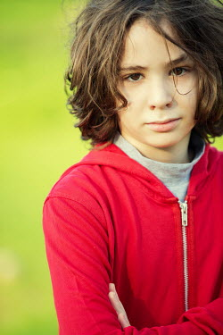 Mohamad Itani Boy in red hoodie