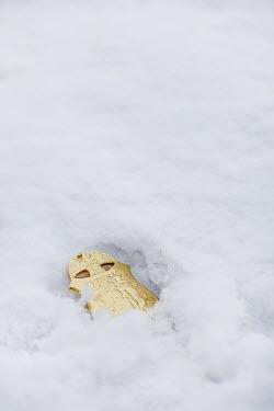 Stephen Mulcahey FBI badge in snow