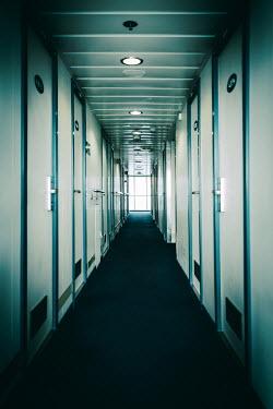 Magdalena Russocka cruise ship corridor