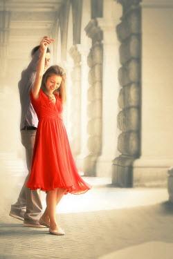 ILINA SIMEONOVA Couple dancing under portico