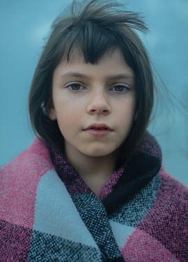 Svitozar Bilorusov Girl wrapped in blanket